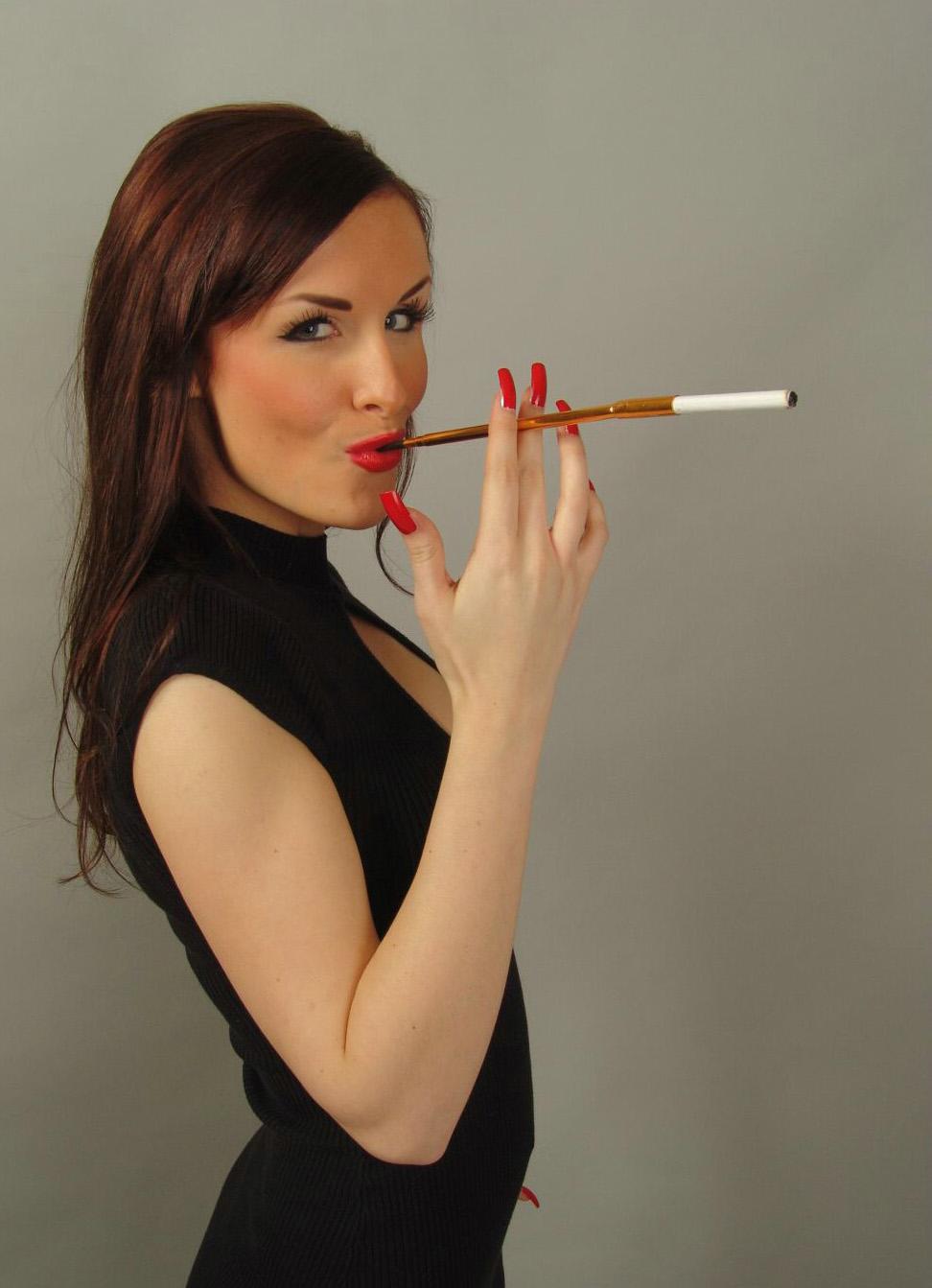 Femdom smoking humiliation photos