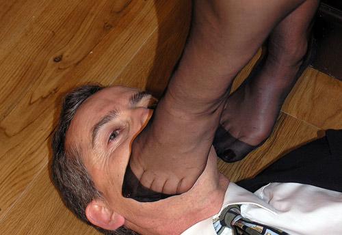 Stockings Feet Worship